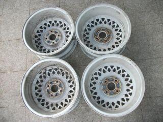 RARE Arc Rial Cross Spoke Alloy Wheels 4x108 7x15 Audi 80 90 100 Typ 81 85 44