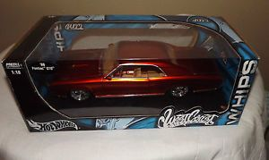 1 18 1966 Orange Pontiac GTO Hot Wheels West Coast Customs NIB