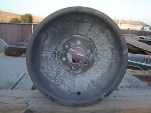 "Vintage Magnesium 16""x 6"" Halibrand ""Solid"" Wheel Gasser Rat Rod Sprint Car 3"