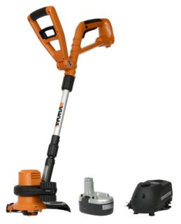 "WG150 Worx 18 Volt Ni CAD 10"" GT 2 in 1 Grass String Trimmer Edger"