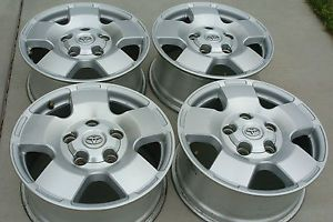 "Toyota Tundra Sequoia 18"" Factory Wheels Rims Aluminum Alloy 5 Lug with Caps"
