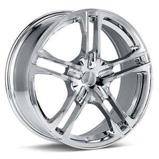 16 inch Verde Protocol Chrome Wheels Rims 5x100 TT Cavalier PT Cruiser Sebring