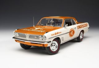 Texas Longhorns Pontiac Tempest Diecast Car Model 1 18