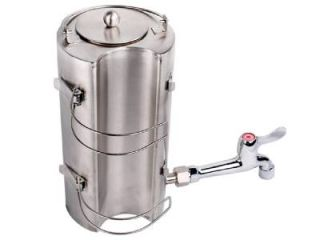 Portable Military Camping Wood Cooking Stove Tent Heater w Water Kettle Teapot