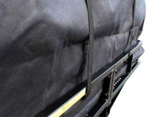 "60"" x 20"" Hitch Mount Folding Cargo Carrier Basket w Waterproof Luggage Bag"