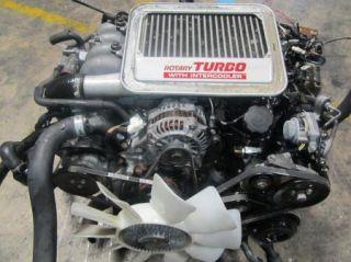 89 91 Mazda RX7 Turbo S5 Rotary Engine Transmission Wire Harness ECU JDM S5 13B