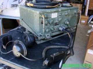 RT 524 RT524 Military Truck Radio and All Accessories M151 M35 M939 M923 A1 A2
