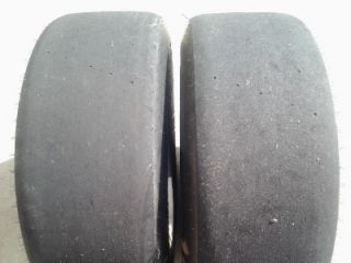 Hoosier 9x15x30 Radial Drag Racing Slicks Used CO7 18211