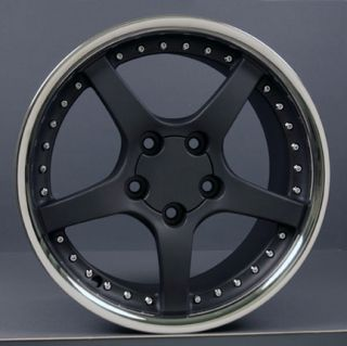 "18"" Rims Fit Camaro Corvette C5 Deep Dish Wheels Set"