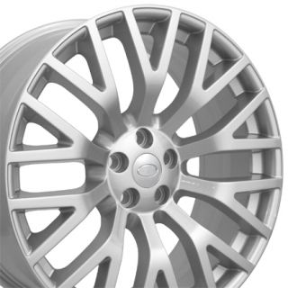 """22"""" Fits Land Rover Cosworth Replica Wheels Silver Set of 4"""
