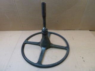 Jaguar Mark 7 Steering Wheel w Steering Shaft Hot Rod Rat Rod Custom