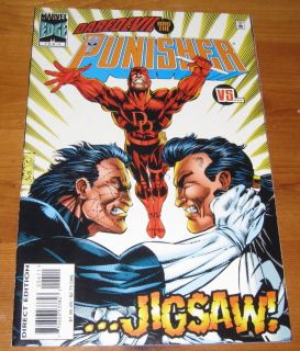 Punisher 4 1996 Daredevil Jigsaw Nice Near Mint Comic