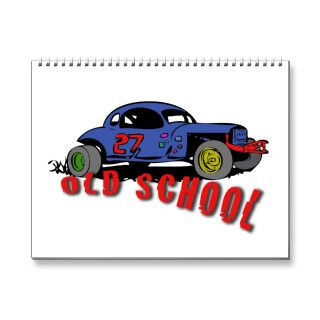 Vintage stock car calendar