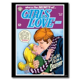 El amor #143 de los chicas   pueda tarjetas postales de