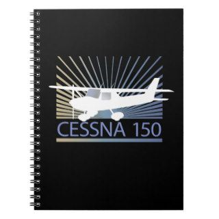 Cessna 150 Airplane Spiral Note Book