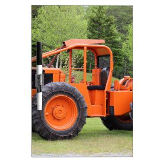 Timberjack Skidder Dry Erase Whiteboards