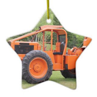 Timberjack Skidder Christmas Ornament