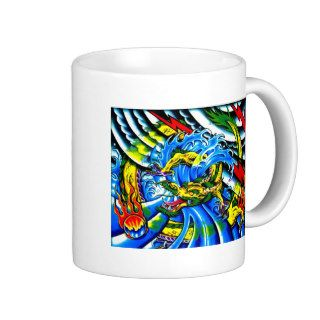 Neo Jap Dragon Tattoo Mug