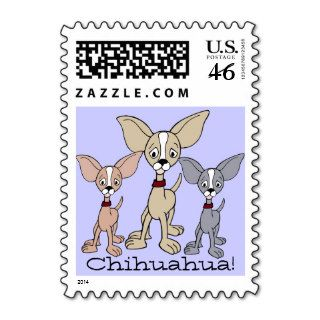 Cartoon Chihuahua 302   03Ae1 Stamp