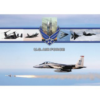 Integrity Desk Pad 17 x 24  Air Force Missile Launch Pack Of 6
