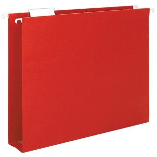 Smead Box Bottom Hanging Folders Letter Size Red Pack Of 25
