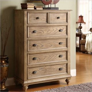 Riverside Furniture Coventry 5 Drawer Chest in Driftwood   32465