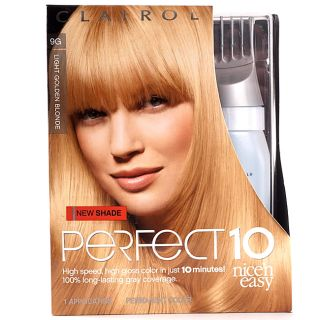 Clairol Nice'n Easy Perfect 10 #9G Light Golden Blonde (Pack of 4) Clairol Hair Color