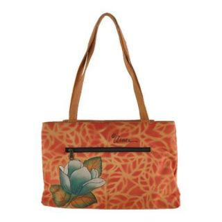 Women's ANNA by Anuschka 7008 Flora and Fauna ANNA by Anuschka Shoulder Bags
