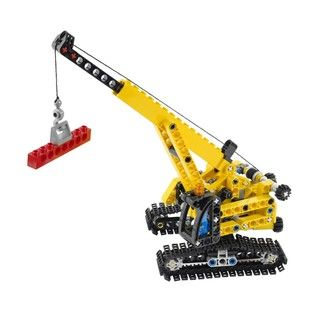 LEGO Technic Crawler Crane 2 in 1 Build Set 9391 LEGO Legos