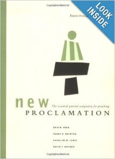 New Proclamation:Year B, 2009, Easter through Christ the King: David B. Lott, Erik M. Heen, Henry G Brinton, Karoline M Lewis, David F Watson: 9780800620660: Books