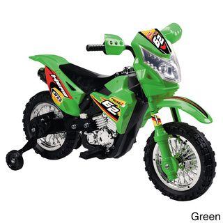 Vroom Rider VR093 Battery Operated 6V Kids Dirt Bike Powered Riding Toys