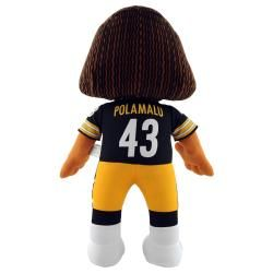 Pittsburgh Steelers Troy Polamalu 14 inch Plush Doll Collectible Dolls