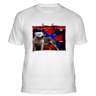 Southern Pride Pit Bull Shirt by outspoken101
