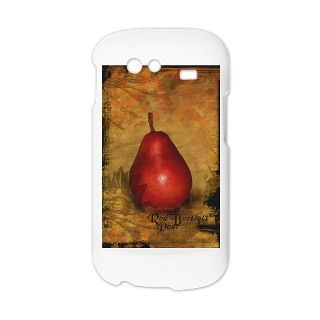 botanical pear red_13 5x18v Nexus S Phone Case by oph3lia