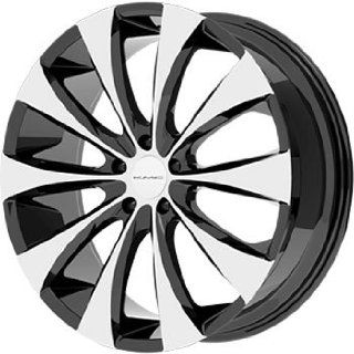 "KMC Wheels KM679 Wheel with Gloss Black Machined (20x8.5""/5x112mm): Automotive"
