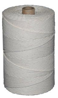 T.W . Evans Cordage 09 361 Number 36 Polished Beef Cotton Twine with 1 Pound Tube, 950 Feet: Home Improvement