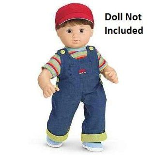 American Girl Bitty Baby Denim Overalls Outfit (American Girl Bitty Baby/Bitty Twins): Toys & Games