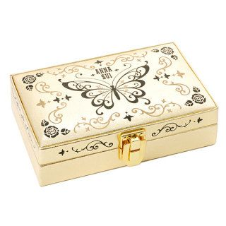 Embossed Velvet Lined Jewelry Box (Limited Edition) 1pc, 1pc   Anna Sui