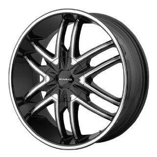 KMC KM678 20x8.5 Black Wheel / Rim 6x135 & 6x5.5 with a 38mm Offset and a 100.50 Hub Bore. Partnumber KM67828566338: Automotive
