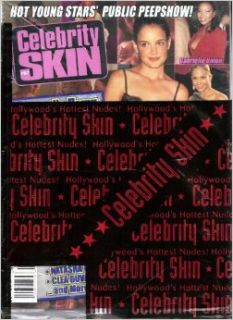 Celebrity Skin Number 97 Hot Young Stars' Public Peepshow! Julie Strain, Pamela Anderson, Katie Holmes (Cover): High Society: Books