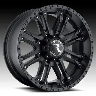 20 inch 20x9 Raceline Octane HD black wheel rim; 8x170 bolt pattern with a +18 offset. Part Number: 996B 29081+18: Automotive
