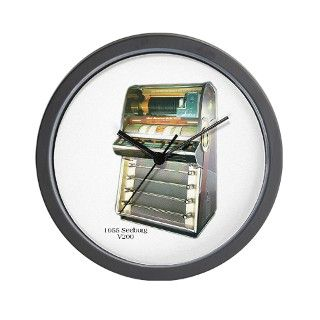 1955 Seeburg V200 Jukebox Wall Clock by skipsdiner