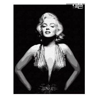 """W&Hstore 13432 DIY Paint By Number Kit,Marilyn Monroe ,20""""X16"""" Arts, Crafts & Sewing"""