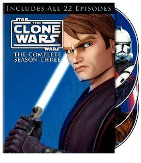 Star Wars The Clone Wars Season 3 Matt Lanter, Ashley Eckstein, James Arnold Taylor Movies & TV