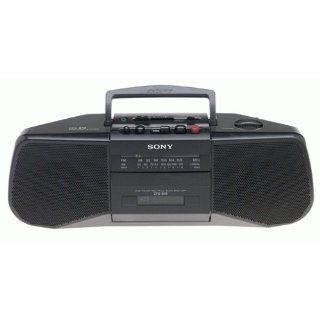 Sony CFS B15 AM/FM Stereo Cassette Recorder (Black)  Cassette Cd Player   Players & Accessories