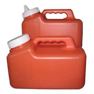 Low Form 24 Hour Urine Collection Containers with spout (Case of 40): Industrial & Scientific