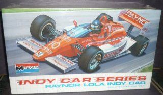 #2909 Monogram Indy Car Series Raynor Lola Indy Car 1/24 Scale Plastic Model Kit: Toys & Games