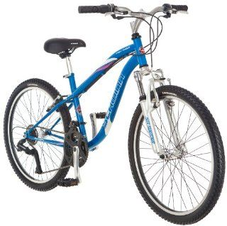 Schwinn Girl's High Timber Mountain Bike (24 Inch, Blue): Sports & Outdoors