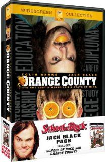 Jack Black Pack (School of Rock/Orange County   Widescreen): Jack Black, Mike White, Joan Cusack, Colin Hanks, Adam Pascal, Lucas Papaelias, Chris Stack, Sarah Silverman, Lucas Babin, Jordan Claire Green, Veronica Afflerbach, Miranda Cosgrove, Jake Kasdan,
