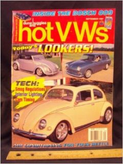 1997 97 SEP September DUNE BUGGIES and HOT VWs Magazine, Volume 30 Number # 9: Wright Publishing Company: Books